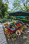Farmstand Metal Prints - Deans Farmstand Metal Print by Robert Seifert