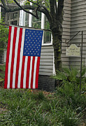 Fourth Of July Prints - Deans - Maffitt House Print by Suzanne Gaff