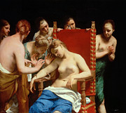 Guido Cagnacci - Death of Cleopatra by Guido Cagnacci