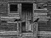 Barn Windows Photos - Death To The Wind  by Jerry Cordeiro