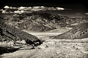 Great White Death Photos - Death Valley Brown Tone by John Rizzuto