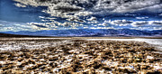 Snow-covered Landscape Originals - Death Valley by Steven Kovich
