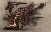 Death's Angel Print by David Bollt