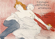 Post Drawings - Debauche Deuxieme Planche by Henri de Toulouse-Lautrec