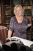 Deborah Framed Prints - Deborah Meaden 3 Framed Print by Jez C Self