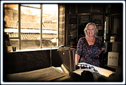 Deborah Prints - Deborah Meaden 4 Print by Jez C Self