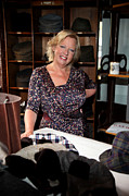 Deborah Framed Prints - Deborah Meaden 5 Framed Print by Jez C Self