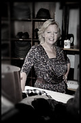 Deborah Prints - Deborah Meaden 7 Print by Jez C Self
