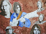 Neil Young Art - Decades by Stuart Engel