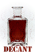 Decanter Prints - Decant Print by Frank Tschakert