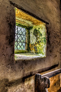Window Digital Art Acrylic Prints - Decay Acrylic Print by Adrian Evans