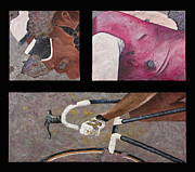 Bicycle Mixed Media Posters - Decay Poster by Darice Machel McGuire