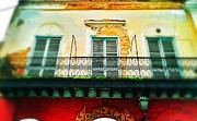 Old San Juan Digital Art Prints - Decayed Print by Olivier Calas