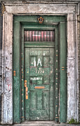 French Quarter Doors Framed Prints - Decaying Beauty Framed Print by Brenda Bryant