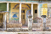 Christ Child Posters - Decaying Mexican Flower Shop in Merida Poster by Mark E Tisdale