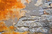 Grime Prints - Decaying wall Print by Antony McAulay