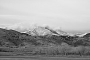 James Bo Insogna - December 16th Twin Peak Sunrise BW View