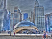 The Bean Photos - December Cloudgate by David Bearden