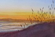 Camper Paintings - December Dawn - Kitty Hawk by Joel Deutsch