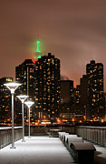 New York City Skyline Photos - December in New York by JC Findley