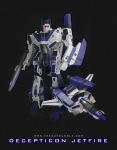 Gorilla Mixed Media Posters - Decepticon Jetfire Poster by Frenzyrumble