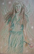 Featured Pastels Originals - Deception by Carrie Viscome Skinner