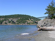 Mary Gaines - Deception Pass Bridge II