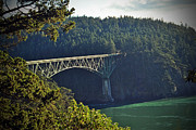 Deception Pass Print by Frank Larkin