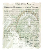 Declaration Of Independence Prints - Declaration Of Independence Art Print by Armand  Roux - Northern Point Photography