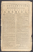 July 4th 1776 Posters - Declaration Of Independence Poster by Paul Van Scott