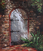 Martin Davey - Decorative door in...