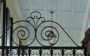 Grillwork Prints - Decorative Wrought Iron 1 Print by Allen Beatty
