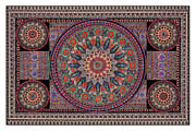 Lawrence Chvotzkin Metal Prints - Decorous Symmetry Metal Print by Lawrence Chvotzkin