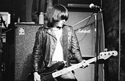 Ramones Photos - Dee Dee by Steven Macanka