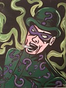 Batman Mixed Media - Deemon Riddler by Deemon Picasso