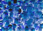 Mindfulness Paintings - Deep Blue by Eric Forster