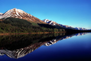 The Summit Art - Deep Blue Lake Alaska by Thomas R Fletcher