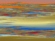 Religious Digital Art Originals - Deep Color Field 4 by Mark Greenberg
