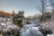 Deep Creek At Green Lane Reservoir - Pennsylvania Usa Print by Mother Nature