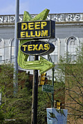 Allen Sheffield Prints - Deep Ellum Texas Print by Allen Sheffield