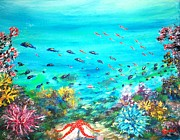 Tropical Fish - Deep End Of The Sea by Mary Sedici