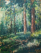 Mjonesart Prints - Deep Forest Print by Micheal Jones