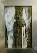 Amber Glass Art - Deep in the Forest by Mary  Knapp