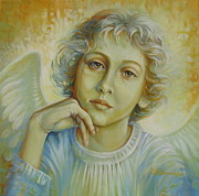 Angelic Originals - Deep in thought by Elena Oleniuc