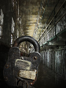 Punishment Prints - Deep Lockdown Alcatraz Print by Daniel Hagerman