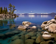 Lake Tahoe Framed Prints - Deep Looks Framed Print by Vance Fox