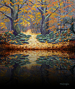 Frank Wilson - Deep Pond Reflections