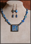 Blue Jewelry - DeepAqua by Jan  Brieger-Scranton