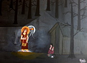 Hindu Goddess Originals - Deepavali Night by Pratyasha Nithin