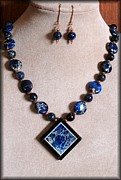 Cameo Jewelry - DeepBlueVue by Jan  Brieger-Scranton